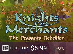 Knights and Merchants: The Peasants Rebellion - kupuj bez DRM na GOG.com!