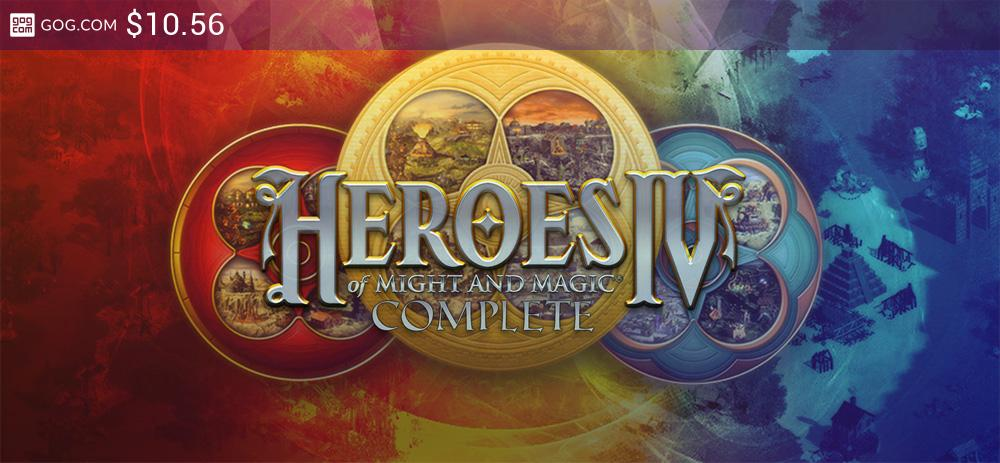 Heroes of Might and Magic? 4: Complete - kupuj bez DRM na GOG.com!