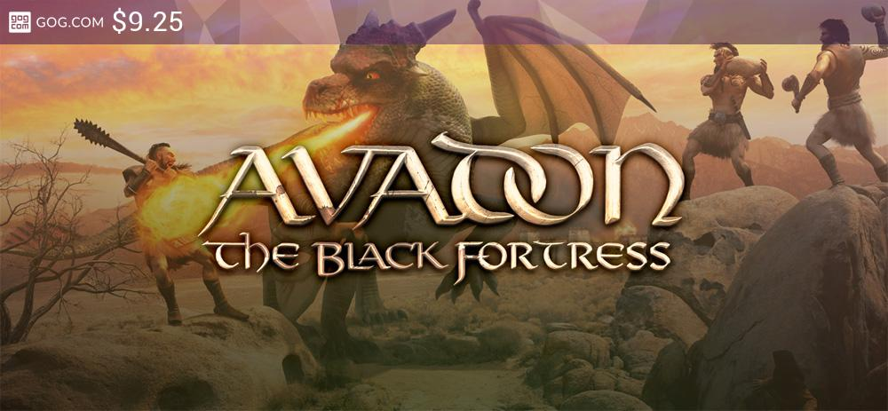 Avadon: The Black Fortress - kupuj bez DRM na GOG.com!