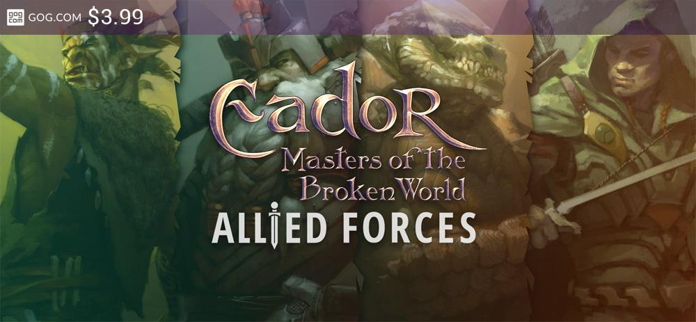 Eador. Masters of the Broken World - Allied Forces - kupuj bez DRM na GOG.com!