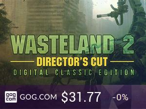 Wasteland 2 Director's Cut Digital Classic Edition - kupuj bez DRM na GOG.com!