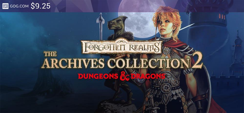 Forgotten Realms: The Archives - Collection Two - kupuj bez DRM na GOG.com!