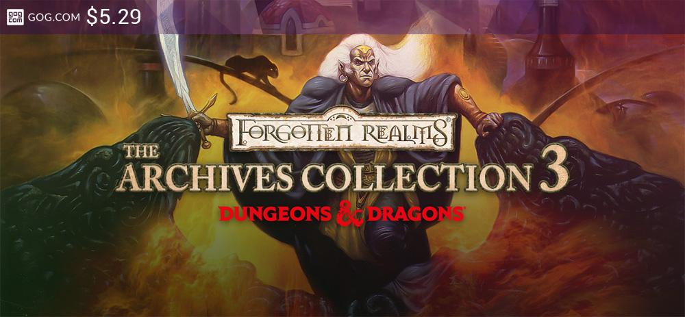 Forgotten Realms: The Archives - Collection Three - kupuj bez DRM na GOG.com!
