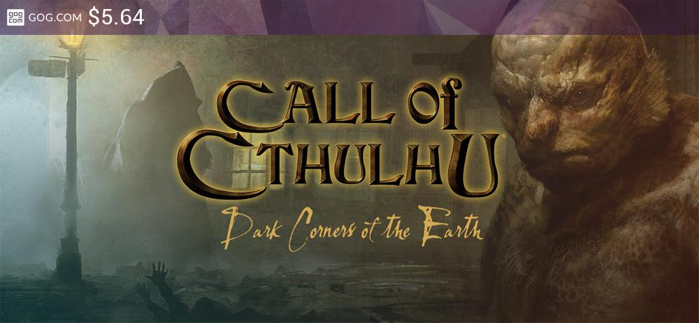 Call of Cthulhu: Dark Corners of the Earth - kupuj bez DRM na GOG.com!