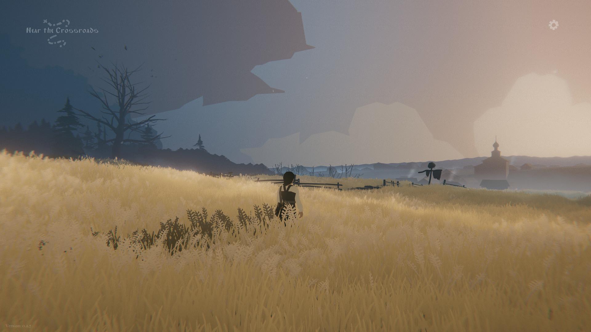 through the fields   RPG Jeuxvidéo