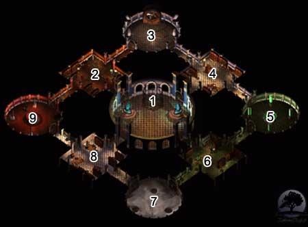 Baldur's Gate 2 - Tron Bhaala - Solucja - Twierdza Stra�nika, poziom II