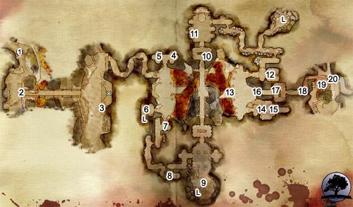 cRPG - Dragon Age: Pocz�tek - Solucja - G��bokie �cie�ki, Okopy Umar�ych